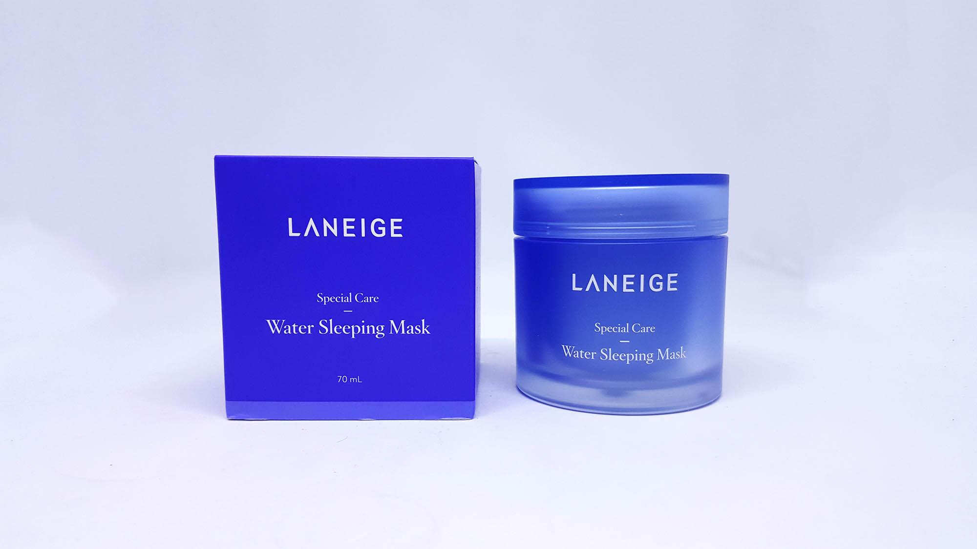 Kết quả hình ảnh cho Laneige water Sleeping Mask 5g